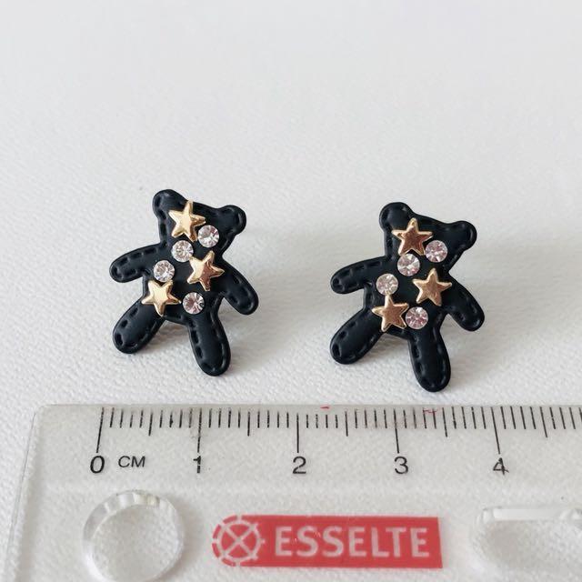 Ear Studs - Teddy Bear