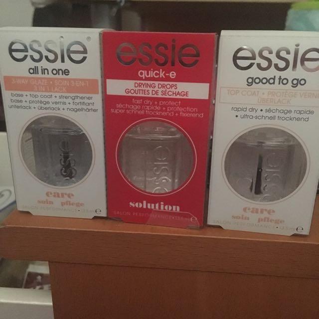 Essie Nail polishes