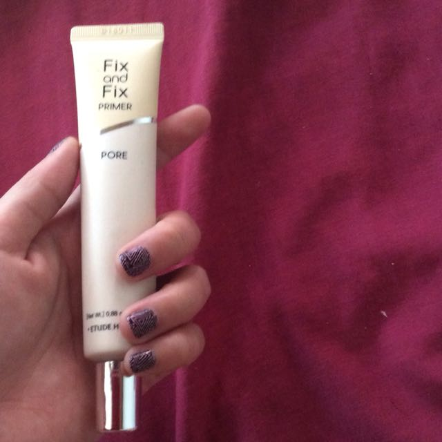 Etude house fix and fix primer