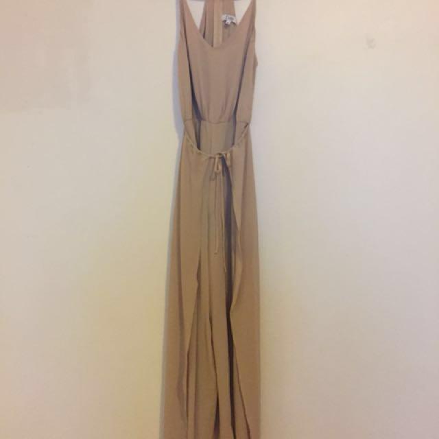 Evie Size 8 Racerback Jumpsuit #dressflashsale