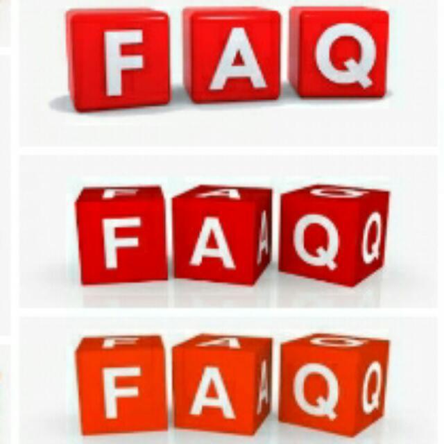 FAQ- Pls. Read!!!