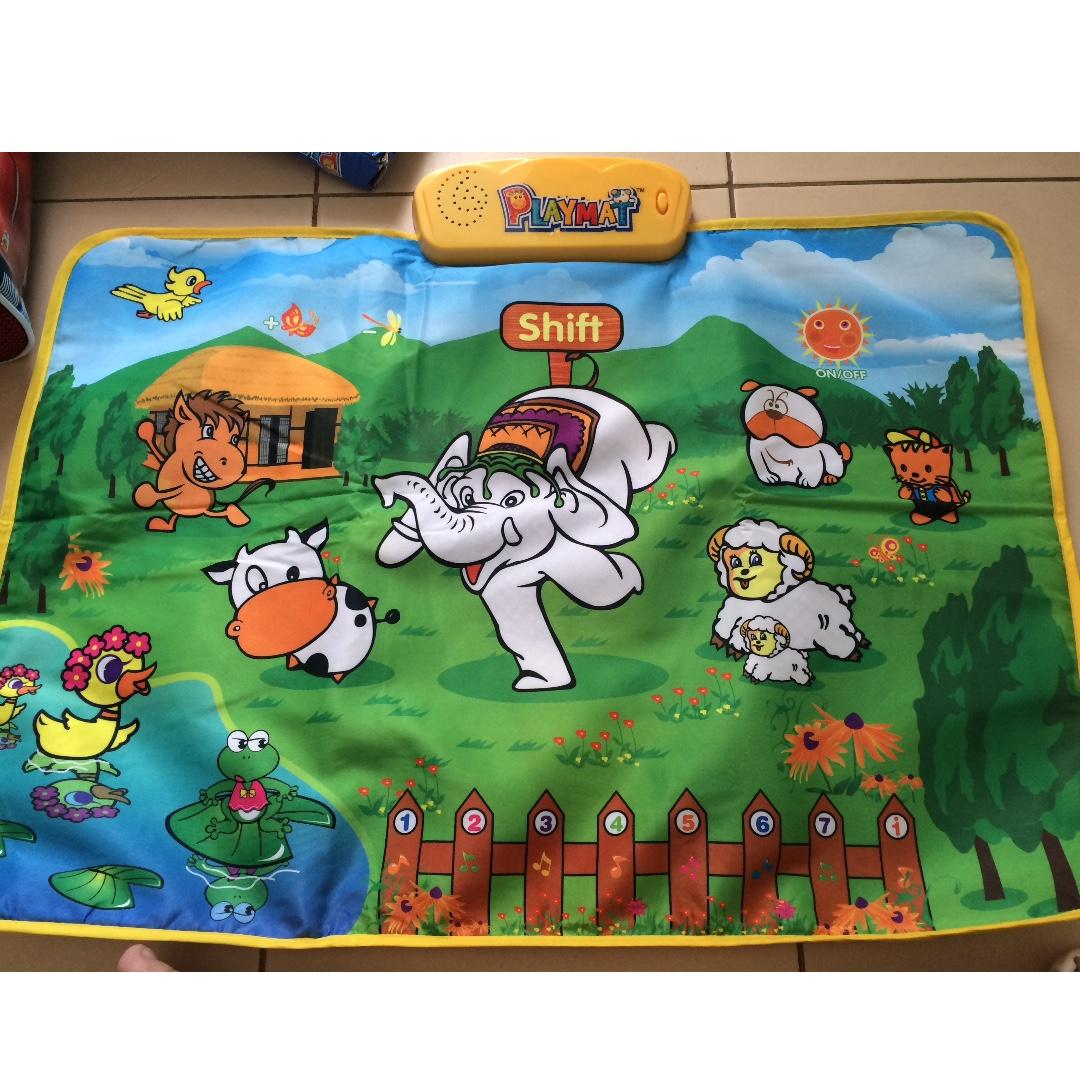 Farm music playmat