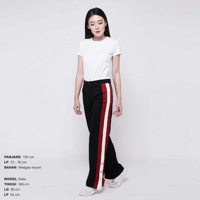 Flag Stripe Pants