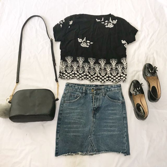 Floral Embroided Top
