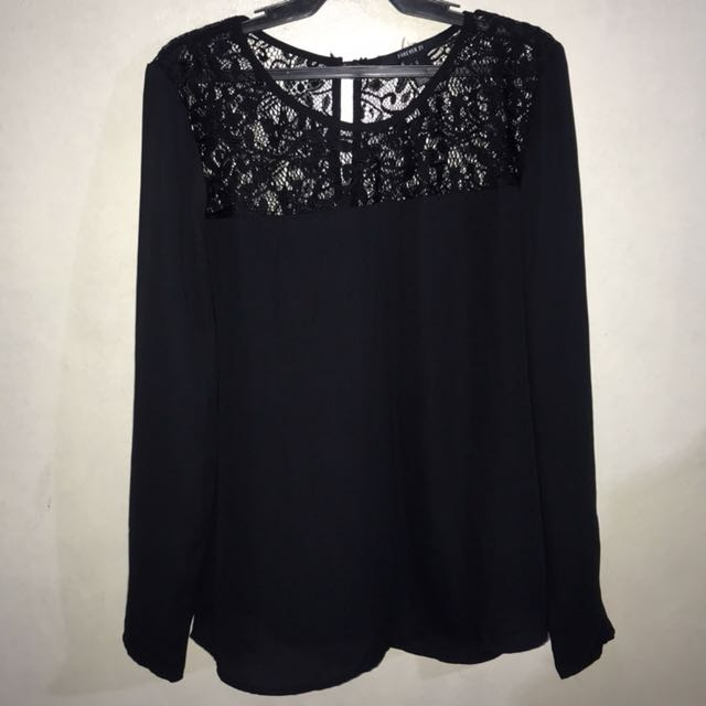 Forever 21 Laced Longsleeves