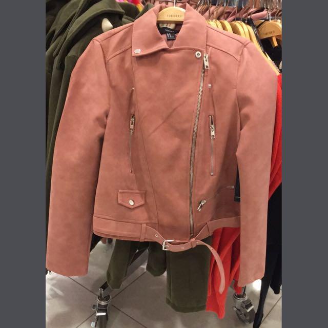 Forever 21 pink jacket