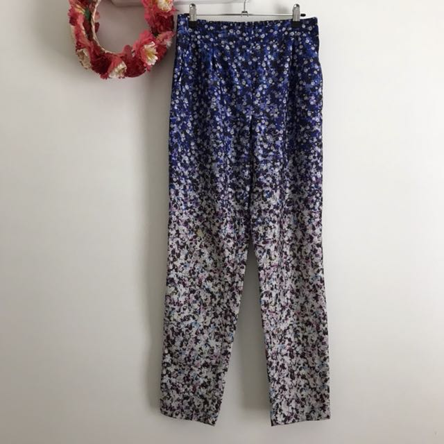 Forever New tapered floral pants