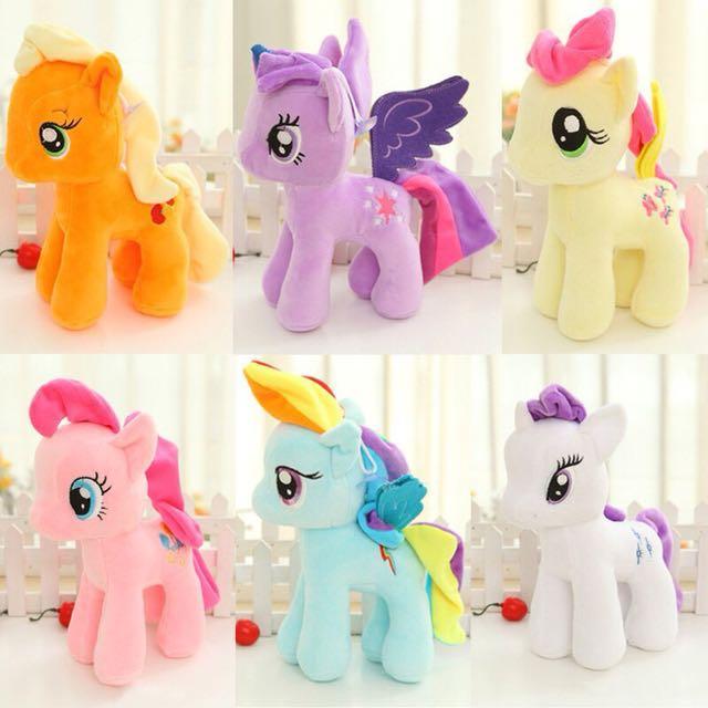 (Free Postage)pony soft toys