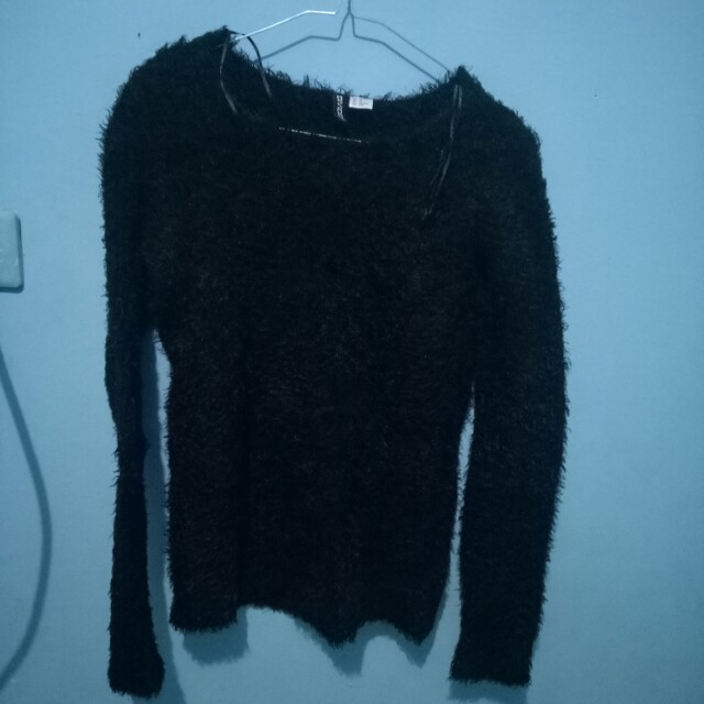 Fur sweater h&m