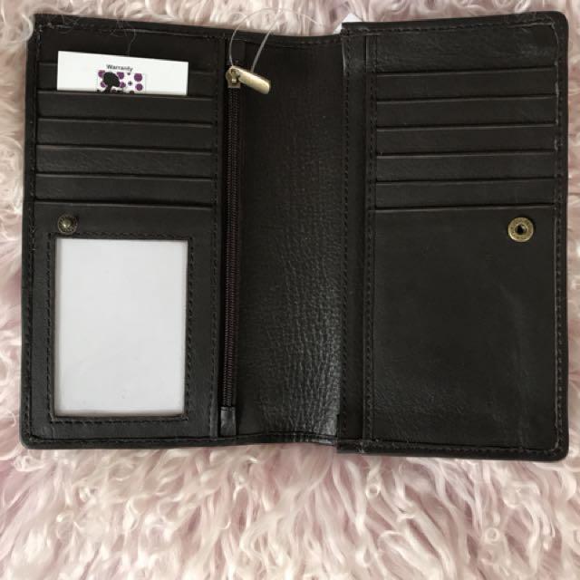 Genuine Cowhide & Leather Wallet