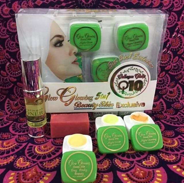 GLOW GLOWING 5IN1 EXCLUSIVE SET