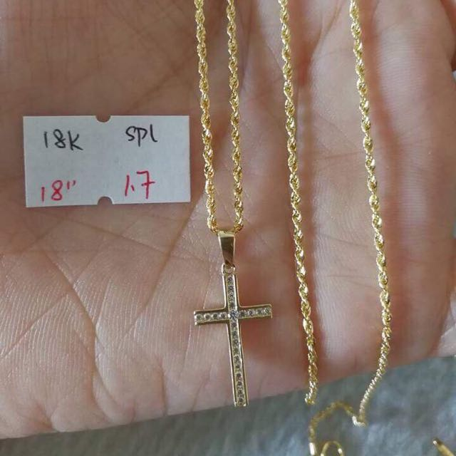 Gold necklace 18k