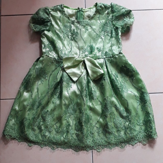 Green Esmeralda dress