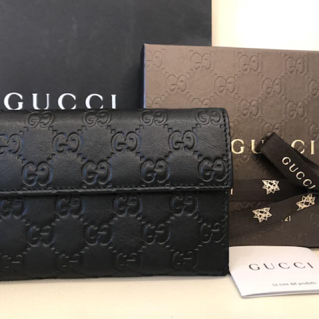 全新Gucci中夾