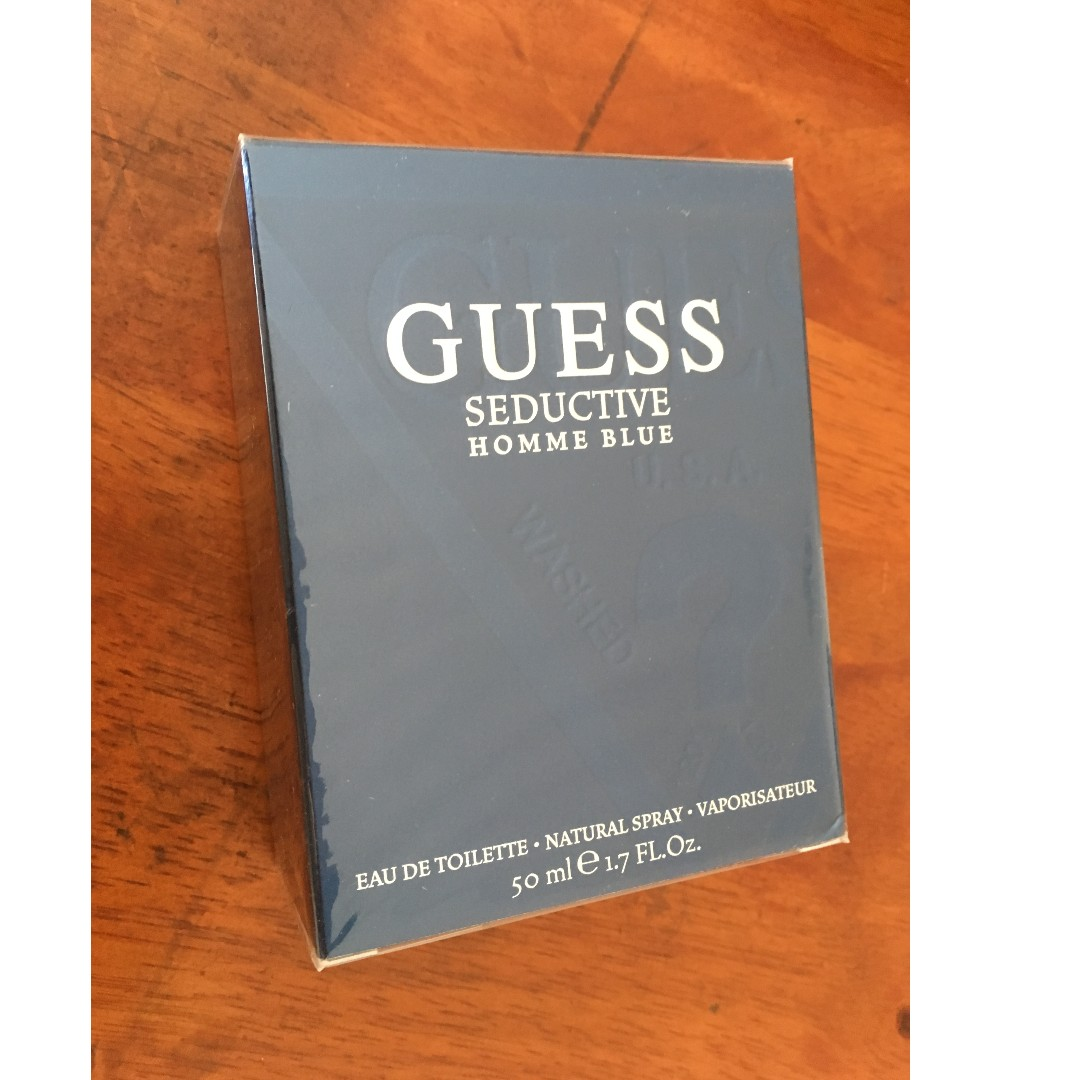 Guess Seductive Homme Blue Mens Edt Perfume Health Beauty