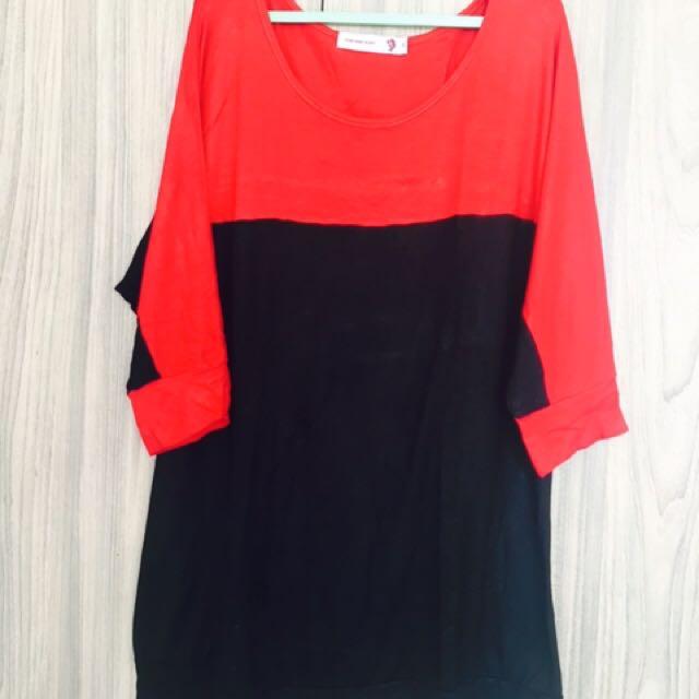 H3 blouse kaos