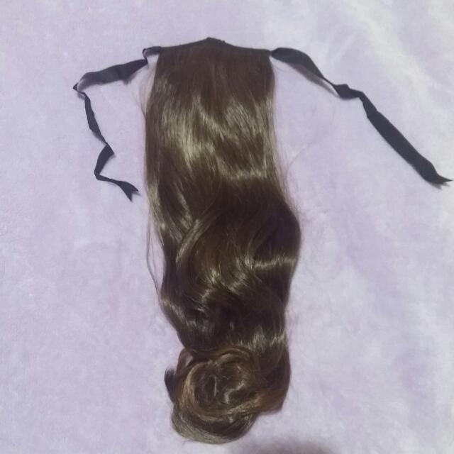Hairclip Curl Ponytail 50cm (Dark Brown)