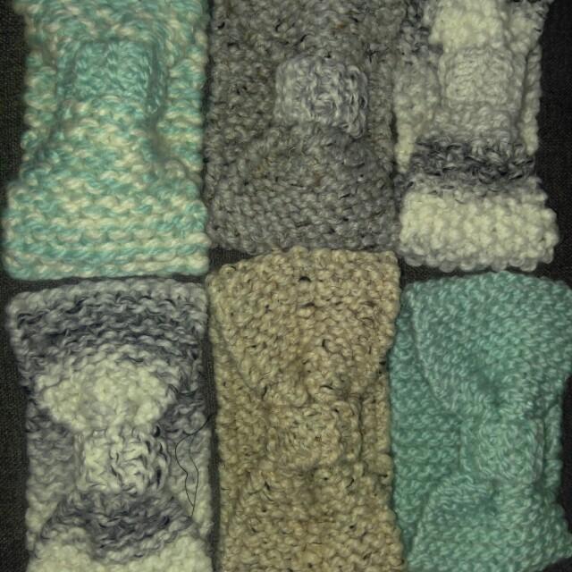 Hand Knit Headbands!!
