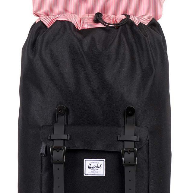 f18a409d4f0 Herschel Little America Backpack- Black Stripe