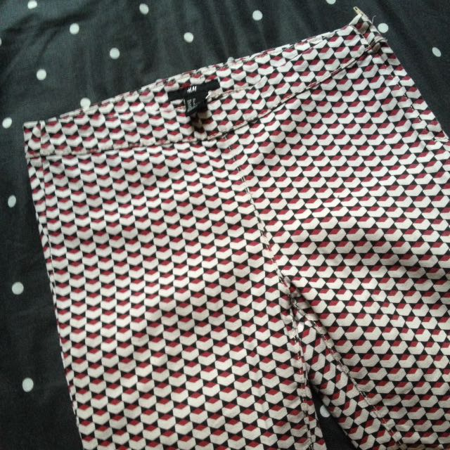 H&M pattern jegging
