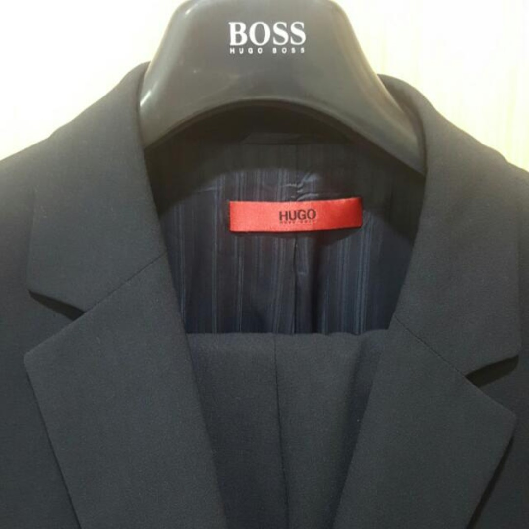 947ee9a28 Hugo Boss Suit Model Aamon / Hago 98, Men's Fashion, Men's Tops on Carousell