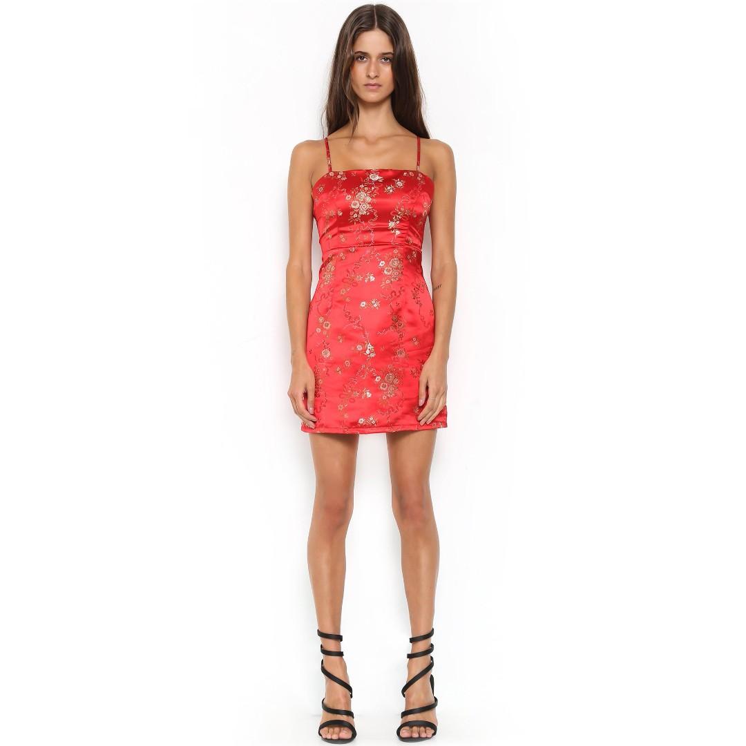 """I.AM.GIA - Red """"Kiko"""" Dress"""