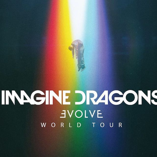 Imagine Dragons Tour Pics