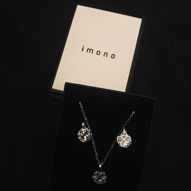 IMONO earrings & necklace