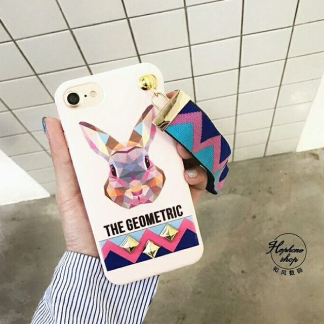 Iphone 6/6S Geometric Head Case (Fendi)