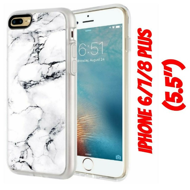 """iPhone 7 Plus (5.5"""") Marble Magnetic Case"""