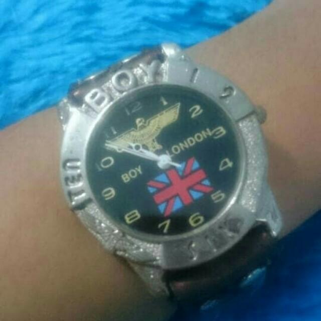 Jam tangan second import london boy