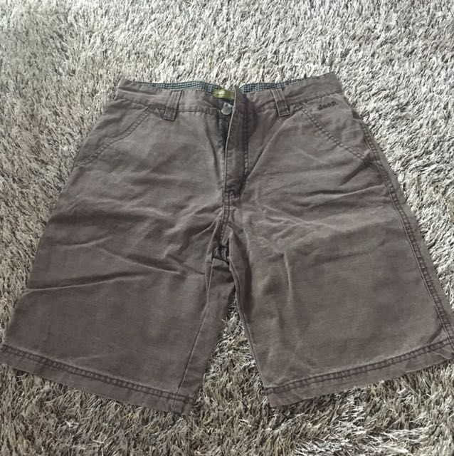 Jeep Brown Shorts