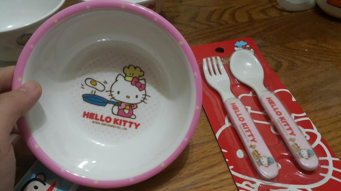 Kiki碗+餐具一組