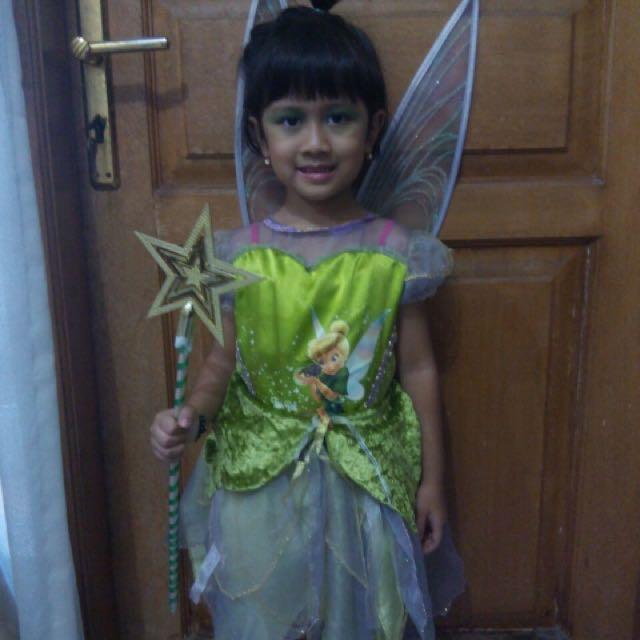 Kostum tinkerbel,frozen,snowwhite, witch, princess