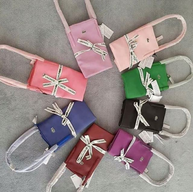 lacoste Bags (horizontal and vertical)