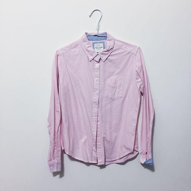 Lativ 粉色襯衫💗 #冬季衣櫃出清
