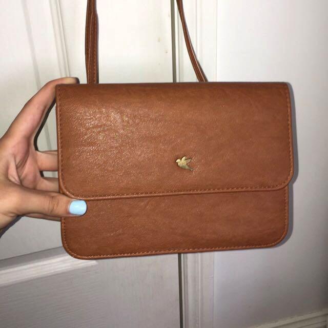 Little brown handbag