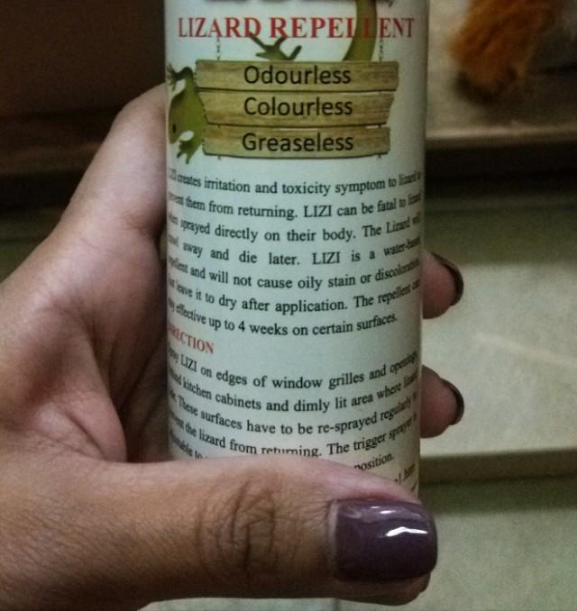 Lizard Repellent (2btls = $18 Only!! Last 10btls!)