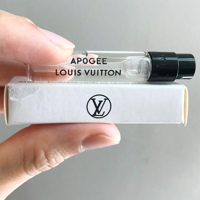 Louis Vuitton Apogee Eau De Parfum tester 2ml