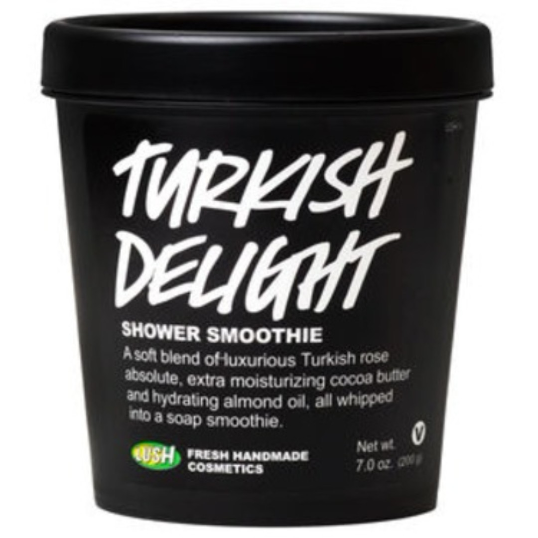 Lush Cosmetics Turkish Delight Shower Smoothie