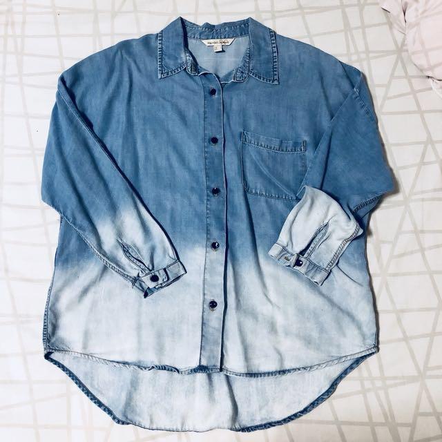 Mango chambray shirt