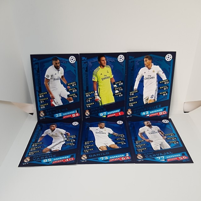 Match Attax 16/17 Champions League