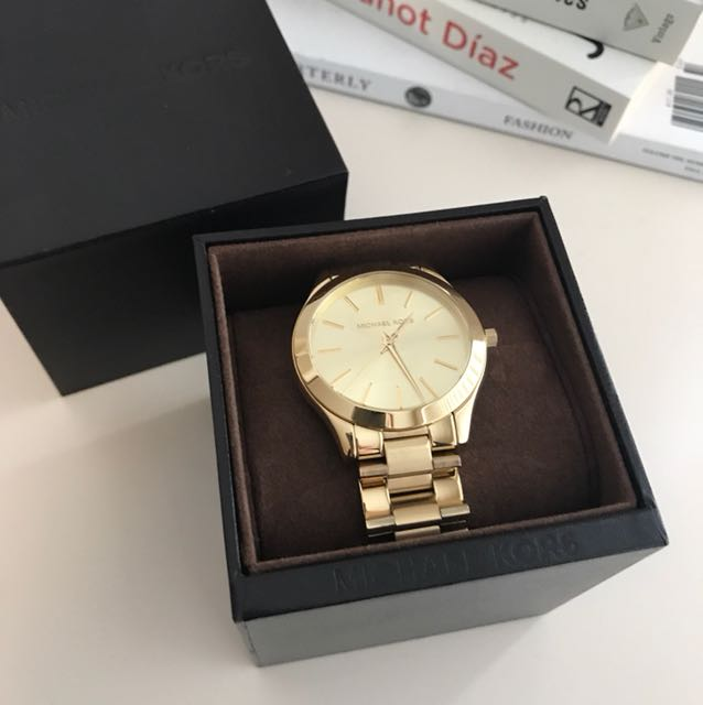 Michael Kors classic gold watch