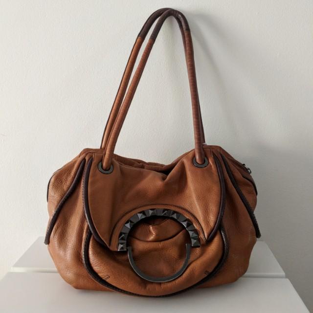 Mimco Tan Leather Bag