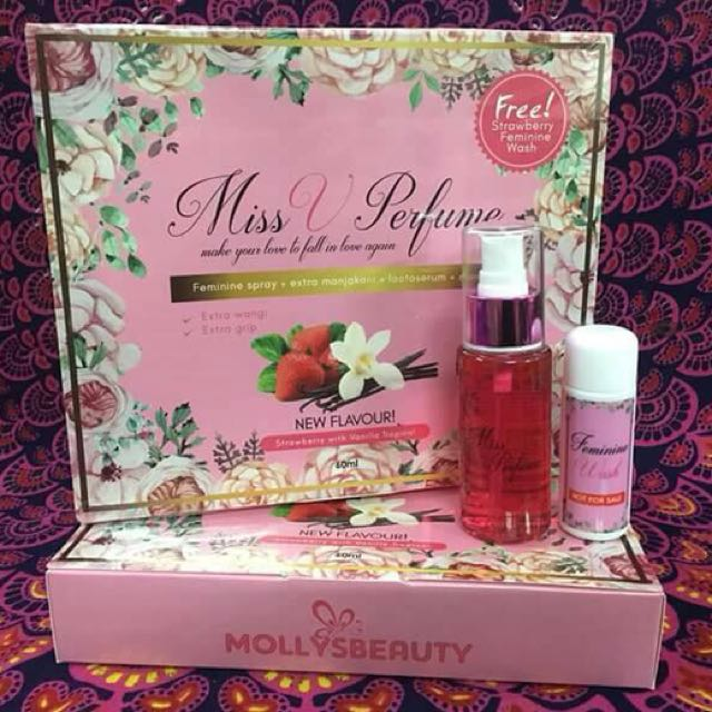 MISS V PERFUME NEW FLAVOUR
