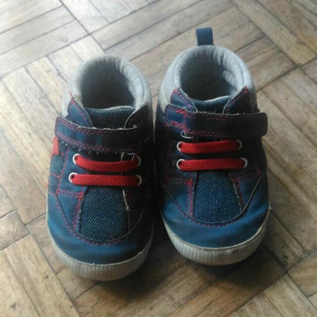 Mothercare Baby Boy Crib Shoes, size UK3