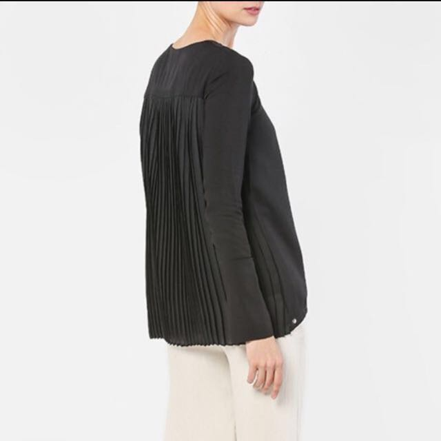 New Olloum Love To Dress Pleated Top