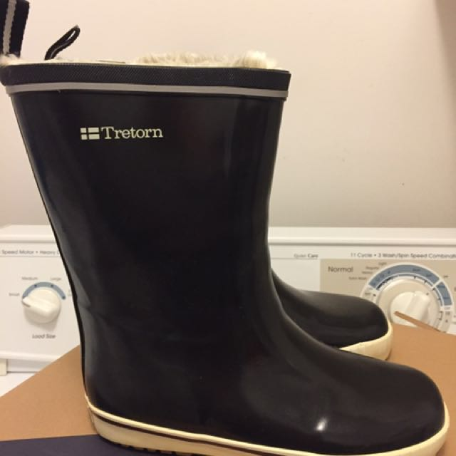 NEW Tretorn Skerry boots