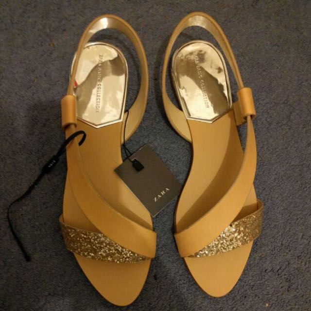 NEW ZARA SANDALS SIZE 8