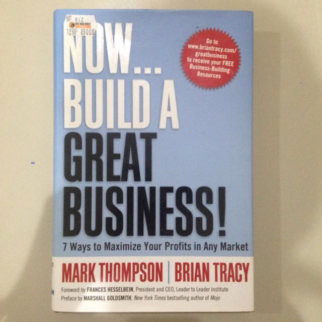 Now build a great business book